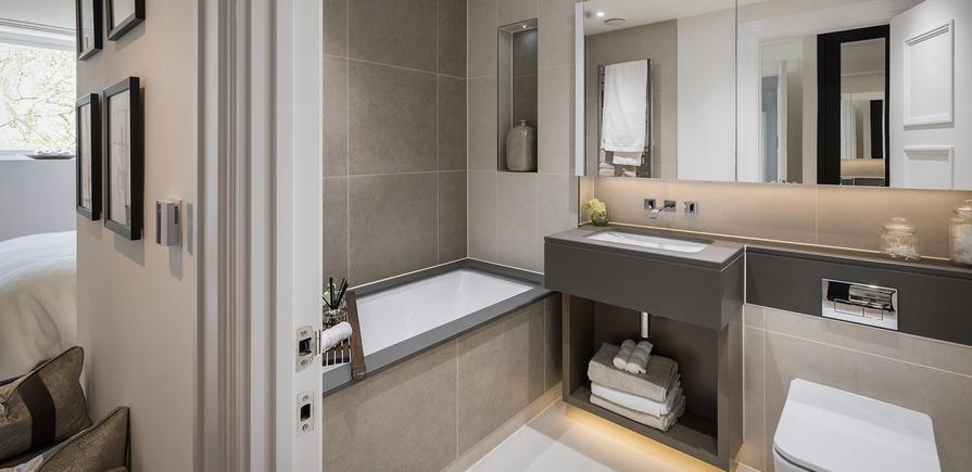 Berkeley, Wimbledon Hill Park, Wellington Row, Apartment Interiors, Kitchen