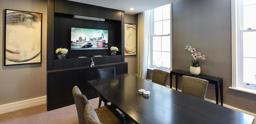 Berkeley, Wimbledon Hill Park, Wellington Row, Apartment Interiors, Bedroom