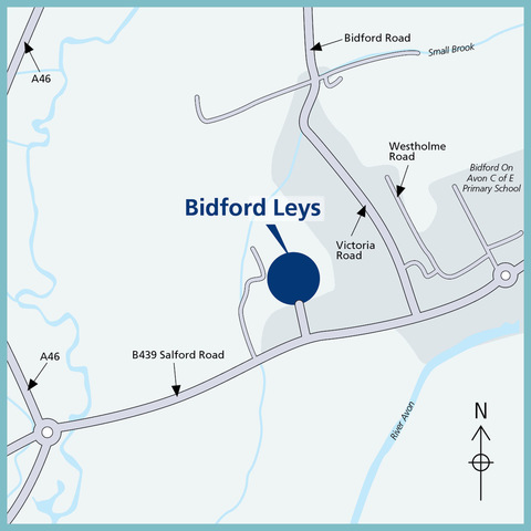 Bidford Leys in Bidford-on-avon