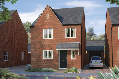 Bovis Homes at Heyford Park in Upper Heyford
