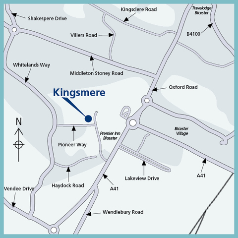 Bovis Homes at Kingsmere in Bicester