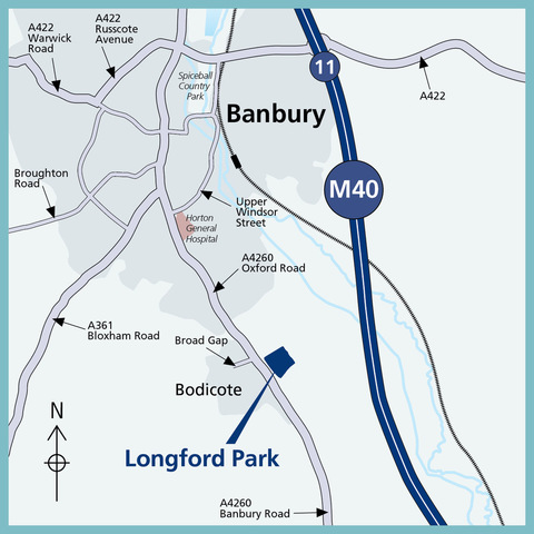 Longford Park in Bodicote