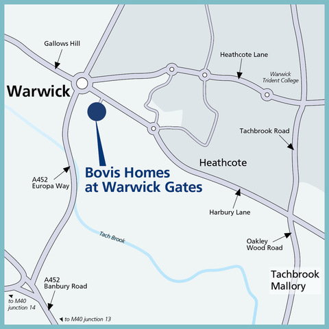 Bovis Homes at Warwick Gates in Heathcote