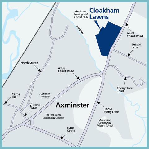 Cloakham Lawns in Axminster