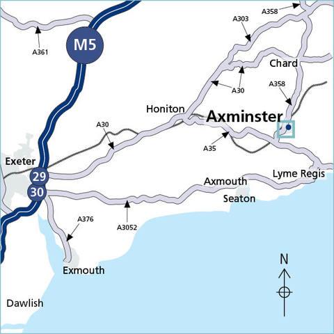 Axminster, Devon EX13