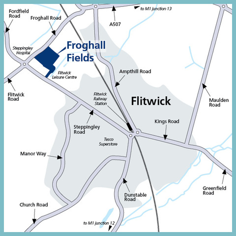 Froghall Fields in Flitwick