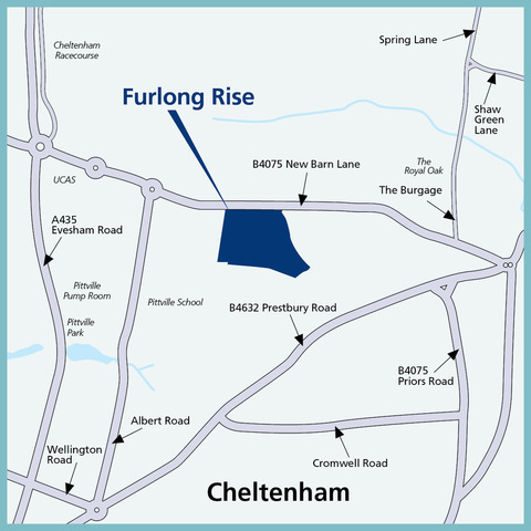 Furlong Rise in Cheltenham