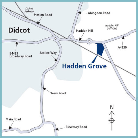 Hadden Grove in North Moreton