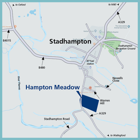 Hampton Meadow in Stadhampton