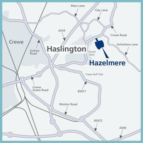 Hazelmere in Haslington