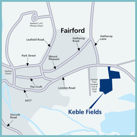 Keble Fields in Fairford