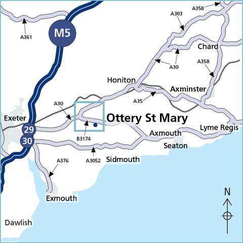 Ottery St. Mary, Devon EX11