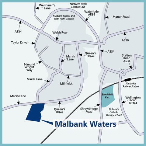 Malbank Waters in Nantwich