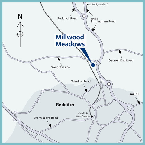 Millwood Meadows in Redditch