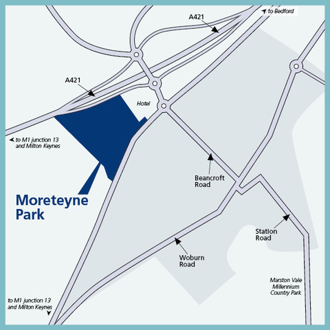 Moreteyne Park in Marston Moretaine