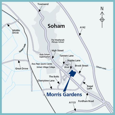 Morris Gardens in Soham