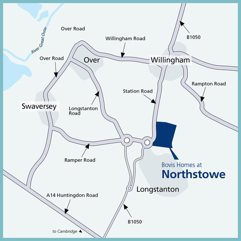 Northstowe in Longstanton