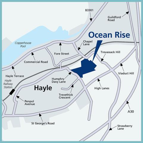 Ocean Rise in Hayle
