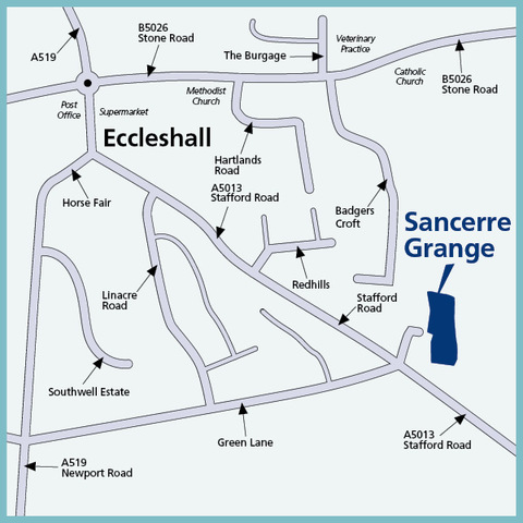Eccleshall, Staffordshire ST21
