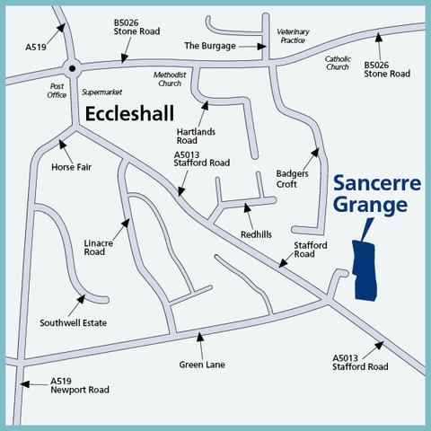 Sancerre Grange in Eccleshall