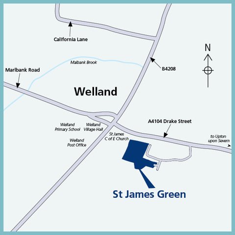 Welland, Worcestershire WR13