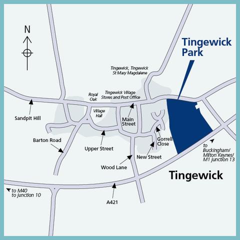 Tingewick Park in Tingewick