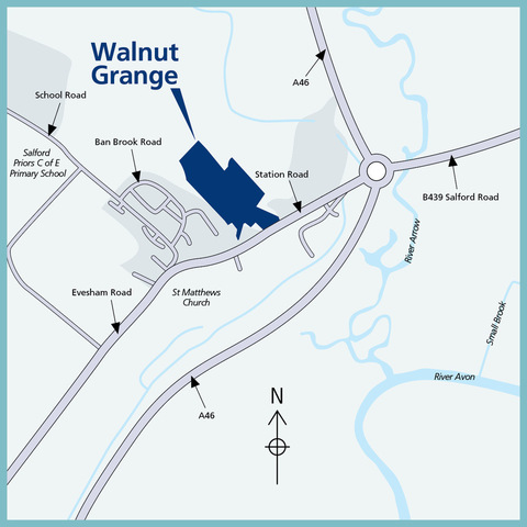Walnut Grange in Salford Priors