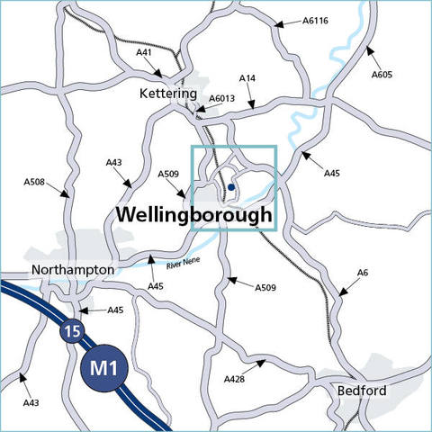 Wellingborough, Northamptonshire NN8