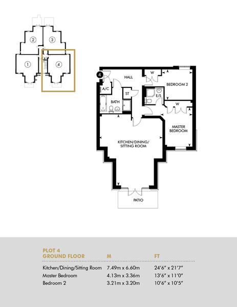 Plot 4, Ground Floor Apartment