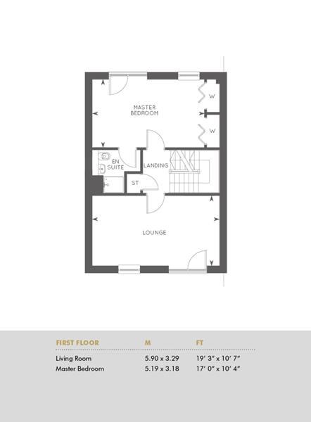Plot 282, First Floor