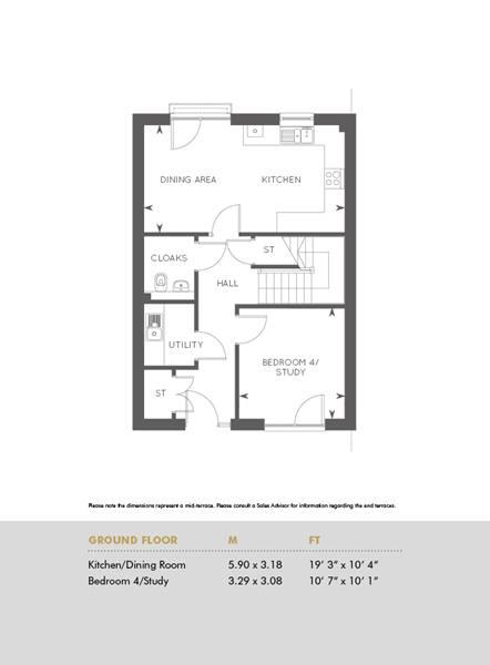 Plot 283, Ground Floor