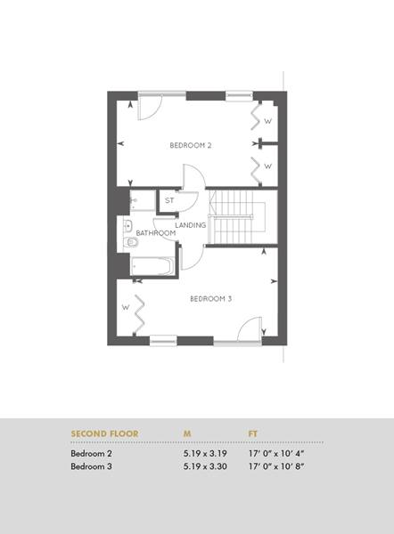Plot 283, Second Floor