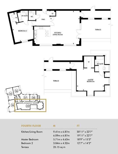 The Lieutenant, First Floor - Plot 33