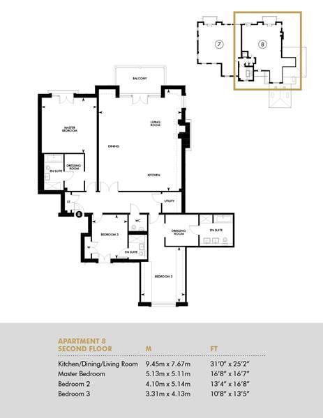 Second Floor, Balcony Apartment, Second Floor Apartment