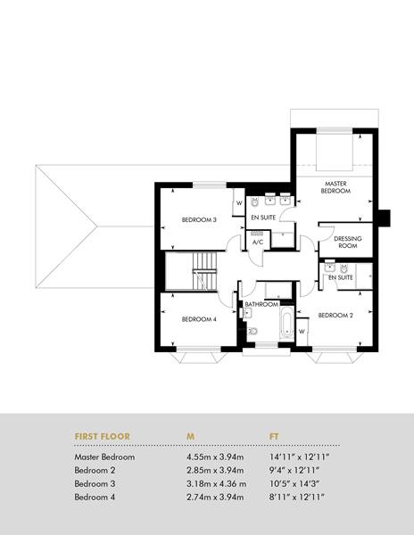 Plot 3, First Floor