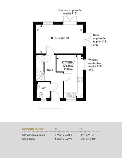 The Carleton Lifetime Home, Ground Floor