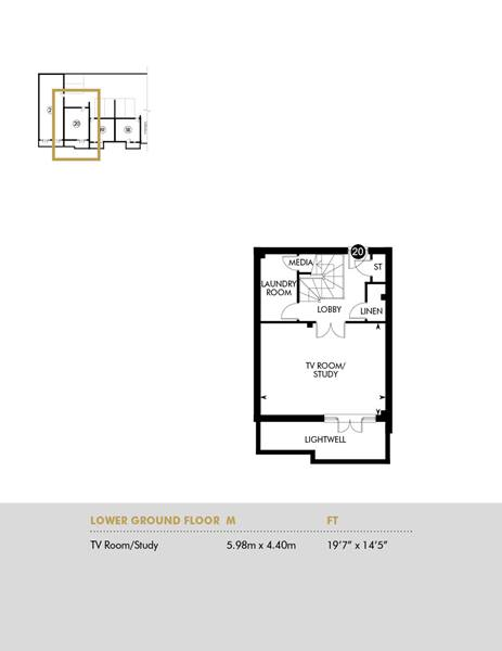 Plot 20, Lower Ground Floor