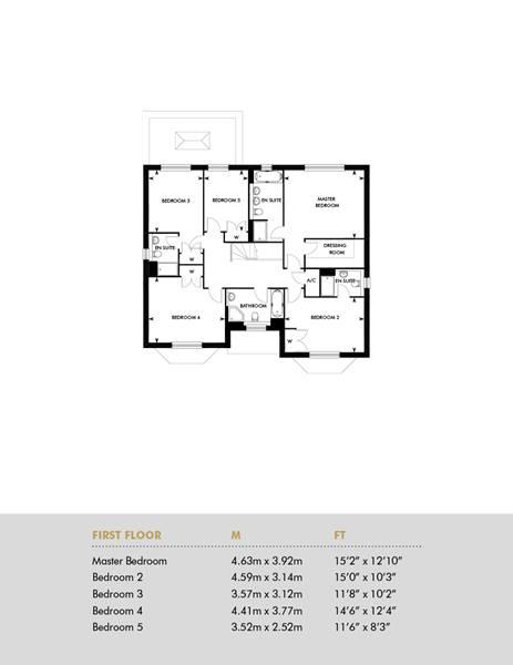 Oak House, First Floor
