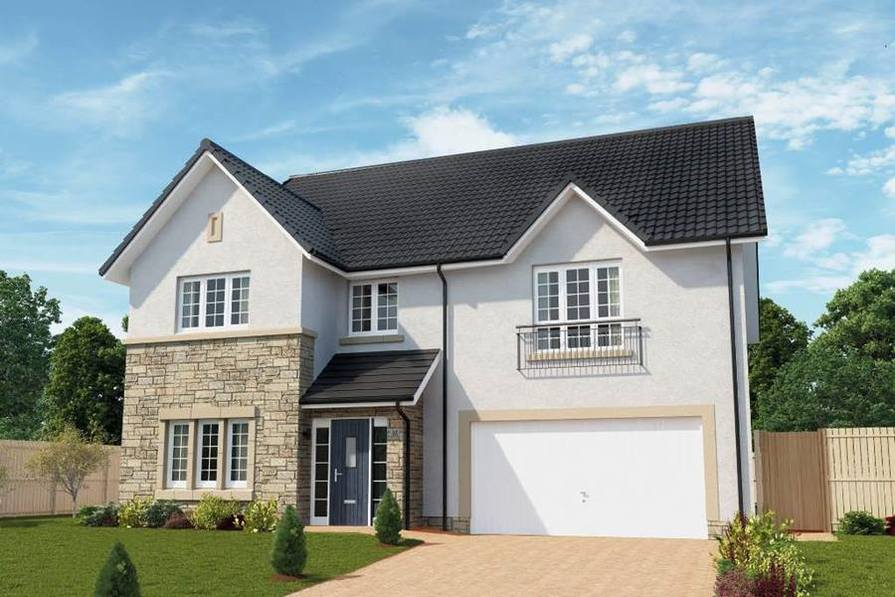 Cala homes in bearsden east dunbartonshire for 5 bedroom new build homes