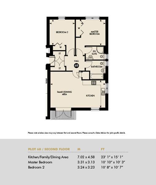Plot 68 - GOLDEN SHARE APARTMENT - Inveresk Apartments, Plot 68