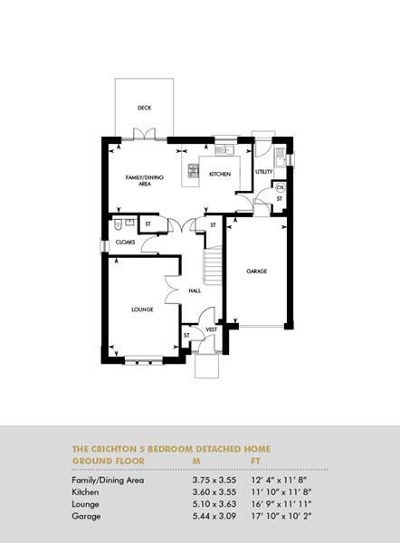 The Crichton, Ground Floor