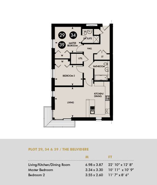 The Belvidere, Plots 29 34 39