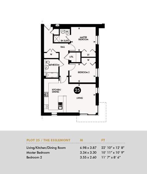 The Esslemont, Ground Floor - Plot 25