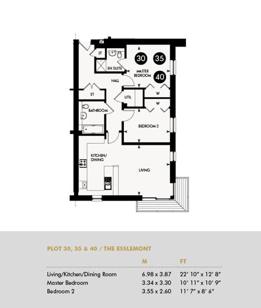 The Esslemont, Plots 30 35 40