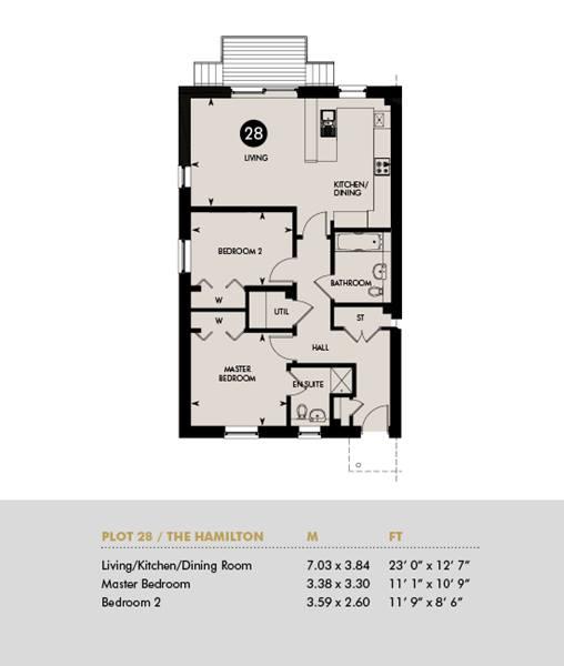 The Hamilton, Ground Floor Plot 28