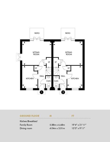 Plot 1 & 2, Ground Floor