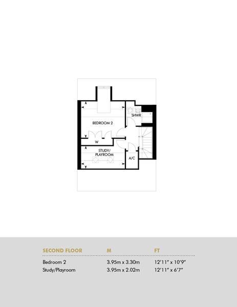 Plot 10 & 11, Second Floor