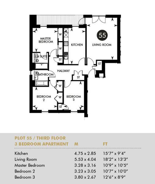 Plot 55 - The Princes Building, Third Floor