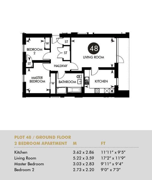 Plot 48 - The Princes Building, Ground Floor