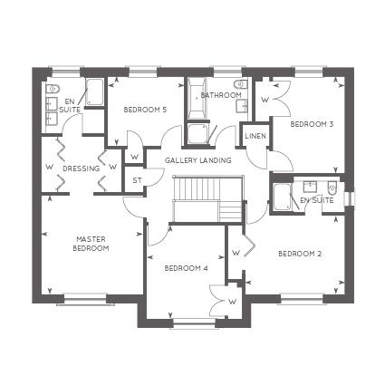 The Macrae, Floor 2